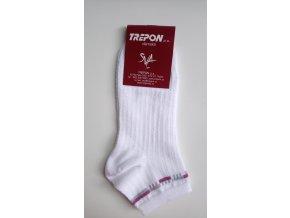 Nízké ponožky Trepon - Tosca bílé