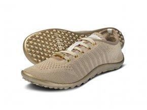Barefoot tenisky Leguano - Go gold