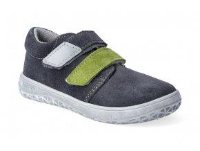 barefoot tenisky jonap b1 sedo zelena 2