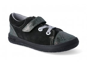 barefoot tenisky jonap b12 cerna trpytka 2