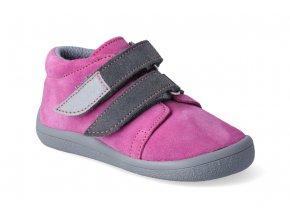 barefoot kotnikova obuv s membranou beda rebecca grey 2