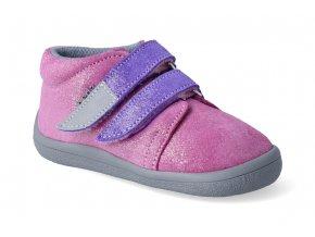 barefoot kotnikova obuv s membranou beda janette violet 3