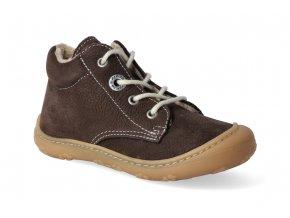 barefoot zimni obuv ricosta pepino corany marone m 2