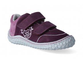 barefoot tenisky ricosta pepino fipi merlot purple m 3