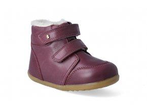 zimni obuv bobux timber arctic plum step up 3