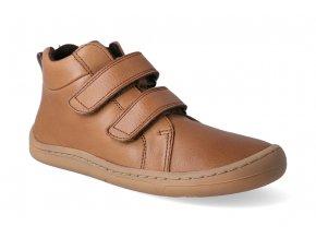 barefoot kotnikova obuv froddo bf cognac 2
