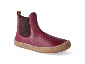 barefoot kotnikova obuv froddo bf chelsea bordeaux 2