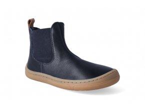 barefoot kotnikova obuv froddo bf chelsea dark blue 3