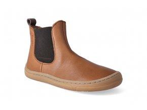 barefoot kotnikova obuv froddo bf chelsea cognac 2