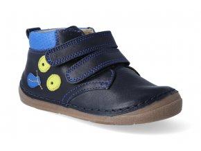 kotnikova obuv froddo flexible dark blue s aplikaci 2 3