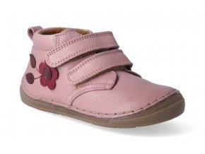kotnikova obuv froddo flexible pink s aplikaci 2 3