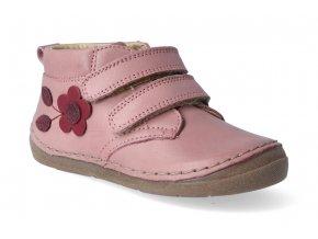 kotnikova obuv froddo flexible pink s aplikaci 3 2