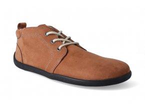 barefoot kotnikova obuv be lenka icon cognac 3
