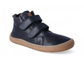 barefoot kotnikova obuv froddo bf dark blue 2