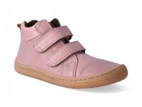 barefoot kotnikova obuv froddo bf pink 2
