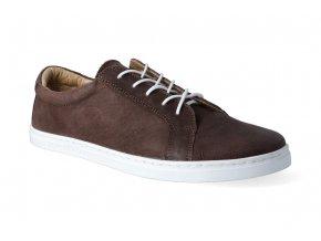 barefoot tenisky peerko classic brown 2