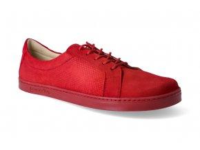 barefoot tenisky peerko classic red 2