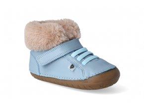barefoot zimni obuv oldsoles flake pave dusty blue 3