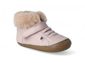 barefoot zimni obuv oldsoles flake pave powder pink 2