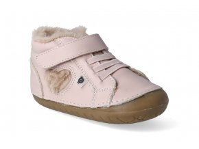 barefoot zimni obuv oldsoles with love pave powder pink 3