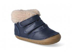 barefoot zimni obuv oldsoles bear pave navy 3
