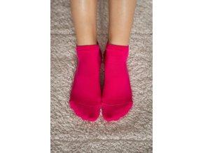 barefoot ponozky kratke ruzove 2267 size large v 1