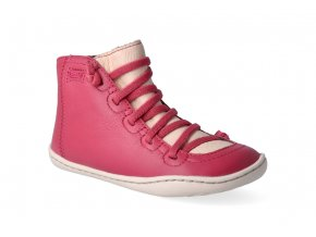 barefoot kotnikova obuv camper peu cami sella petons pink 3