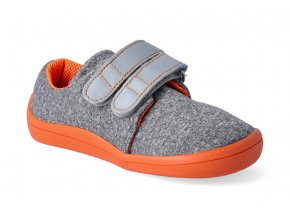 barefoot tenisky beda mandarine soft 2