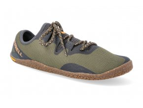barefoot tenisky merrell vapor glove 5 olive 2