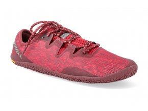 barefoot tenisky merrell vapor glove 5 lava 2