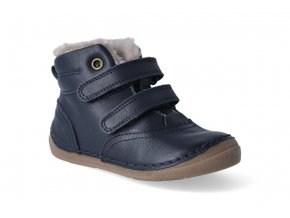 zimni obuv froddo flexible sheepskin dark blue 2 3