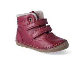 zimni obuv froddo flexible sheepskin bordeaux 2 2