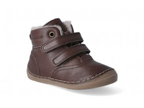 zimni obuv froddo flexible sheepskin dark brown 2 2