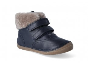 zimni obuv froddo flexible sheepskin girl dark blue 2 2