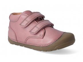 barefoot kotnikova obuv bundgaard petit velcro nostalgia rose 2