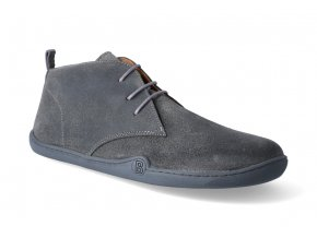 barefoot kotnikova obuv blifestyle classicstyle bio wax grey 2