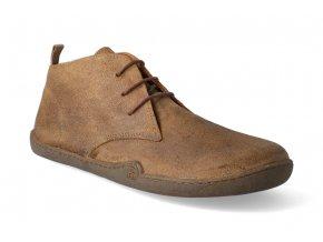 barefoot kotnikova obuv blifestyle classicstyle bio wax brown 3