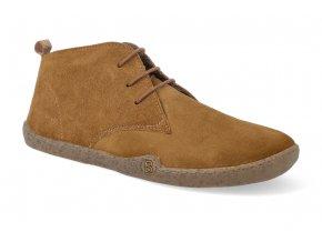 barefoot zimni obuv blifestyle classicstyle bio wax fleece brown 4