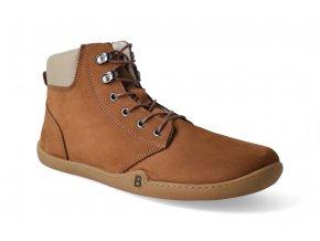 barefoot zimni kotnikova obuv blifestyle streetstyle nubuk fleece terra 2
