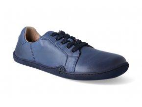 barefoot tenisky blifestyle groundstyle nappa blue 3