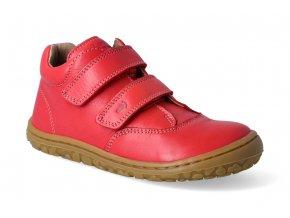 barefoot kotnikova obuv lurchi nora rosso 3