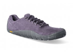 barefoot tenisky merrell move glove suede shark violet 3