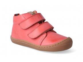 Barefoot kotníková obuv KOEL4kids - Korkid coral