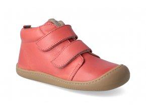 barefoot kotnikova obuv koel4kids plus nappa coral 3