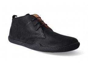 barefoot kotnikova obuv blifestyle classicstyle bio wax black 3