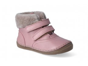 zimni obuv froddo flexible sheepskin girl pink 2 3