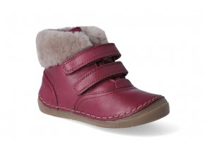 zimni obuv froddo flexible sheepskin girl bordeaux 2 2