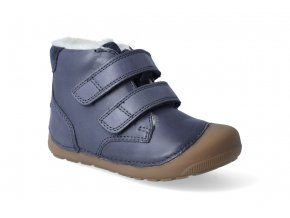 barefoot zimni obuv bundgaard petit mid winter navy 3