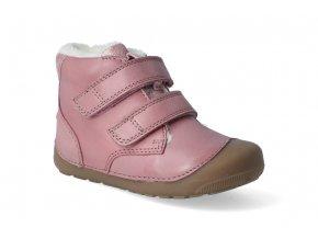 barefoot zimni obuv bundgaard petit mid winter nostalgia rose 2