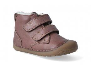 barefoot zimni obuv bundgaard petit mid winter mink brown 3